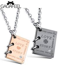 custom engraved jewelry aliexpress buy gagafeel necklace women men pendants