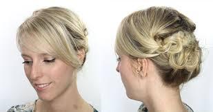 coiffure mariage cheveux courts tutoriel coiffure cheveux courts et mi longs maquillage cynthia