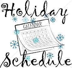 winter schedule calendar christian word
