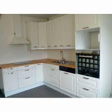 hauteur de cuisine hauteur meuble cuisine cuisine blanc casse ikea solutions