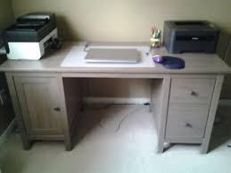 Ikea Hemnes Desk Grey Brown Ikea Hemnes Desk Kijiji In Ontario Buy Sell U0026 Save With