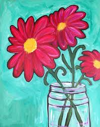 ellicott city halloween events i am going to paint painted daisies of summer at pinot u0027s palette