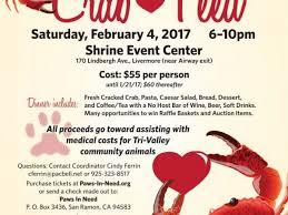 valentine raffle tickets feb 4 paws in need valentine crab feed pleasanton ca patch
