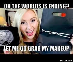 Funny Make Up Memes - girl makeup meme vizitmir com