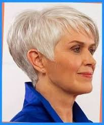 image result for short haircuts for women over 50 back view bobs