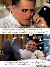 Obama You Mad Meme - obama chan x romney sama 3 by atomicnoodles meme center