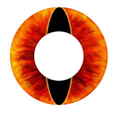 day scary extreme halloween contact lenses souron 1 pair