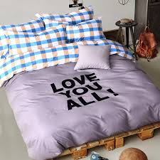 Heavy Duvet Aliexpress Com Buy Love You All Home Bed Linen Set Winter