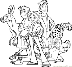 wild kratts team coloring free wild kratts coloring pages