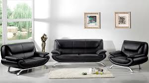 ensemble 3 pièces canapé 3 places 2 places fauteuil en cuir luxe