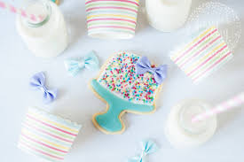 make birthday cake cookies with this free craftsy tutorial