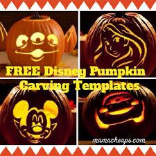 31 free disney pumpkin carving printable templates mama cheaps