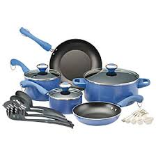 black friday pan set paula deen 17 piece non stick cookware set big lots black friday