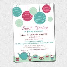 brunch bridal shower invitations bridal shower invitations tea brunch lanterns cupcakes custom