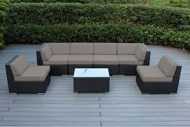 Patio Furniture Sectional Seating - genuine 16 piece ohana wicker patio furniture set outdoor
