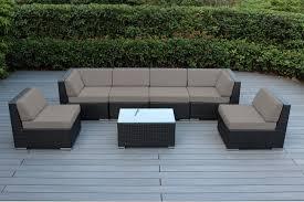 Wicker Patio Furniture Sets by Genuine 16 Piece Ohana Wicker Patio Furniture Set Outdoor