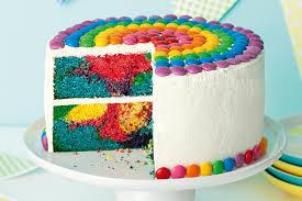 bubblegum rainbow cake