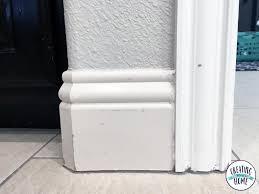 painting door trim u0026 before we painted the trim the doors and trim