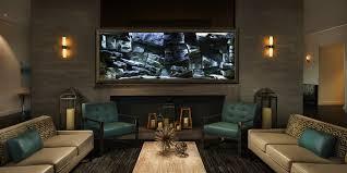 breathtaking living room aquarium aquadecor