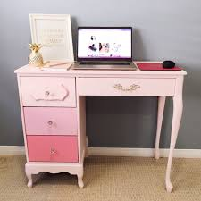 Secretary Desk Diy How To Paint An Old Desk Step By Step Diy For Your Home