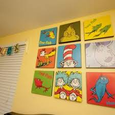 Dr Seuss Kids Room by Diy Dr Seuss Wall Art This Could Be Used For Any Similar Wall