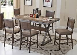 industrial style pub table industrial style counter height table set