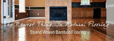 the newest thing in flooring strand woven bamboo flooring