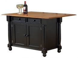 engaging rolling kitchen island drop leaf rolling kitchen island