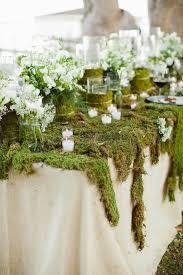 Wedding Table Centerpiece Ideas 29 Budget Friendly Moss Wedding Décor Ideas Weddingomania