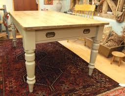 A Victorian Pine Kitchen Table Antiques Atlas - Victorian pine kitchen table