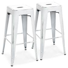 Industrial Metal Bar Stool 30