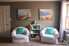 Teal And Gold Bedroom by The Handcrafted Life Teal White And Grey Guest Bedroom Reveal