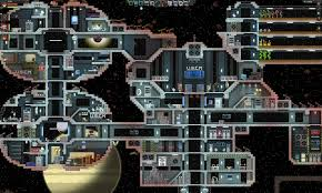 starbound huge space station via reddit user nize video game fun