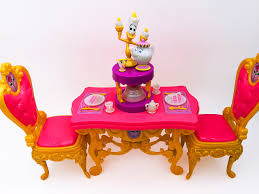 all about monster high u201cbelle u0027s be our guest dining set u201d