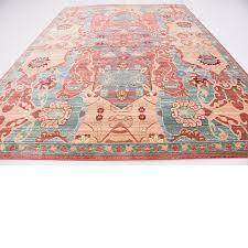 Turquoise Persian Rug Aria Ykeabye2ky Ebay