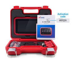 xtool x100 pad tablet car key programmer tool