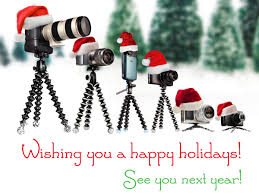 wishing you a happy holidays see you next year