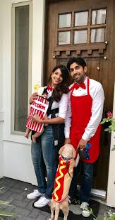 diy halloween costume for family baby wearing costume popcorn
