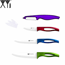 online get cheap purple ceramic knife set aliexpress com
