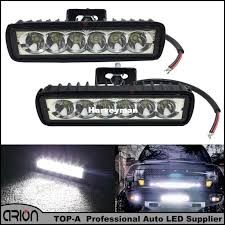 6 inch light bar 6 inch 18w led light bar 12v 24v motorcycle offroad 4x4 atv spot