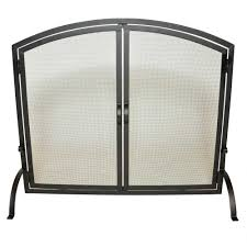 2 panel room divider medium single panel black wrought iron fireplace screen with doors
