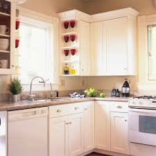White Kitchen Glass Cabinets Kitchen Glass Window Plate Cup Utensils Cookware Kettle White