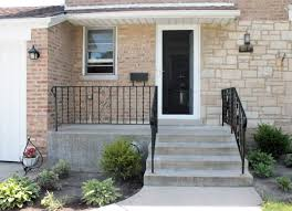 exterior front porch railings ideas for small house composite also