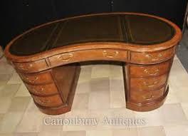 bureau ebay regency kidney bean desk in walnut writing table bureau ebay