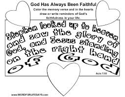 god has always been faithful u201d sunday lesson acts 7 2 4 8