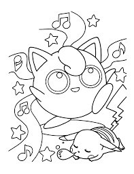 pokemon coloring book pages elegant munkip pokemon coloring pages