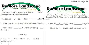estimating and invoicing snow plow customers  lawn care business  with snow plow invoice card from lawnchatcom