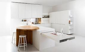 space saving kitchen islands minimalist kitchen offers space saving solutions for the small