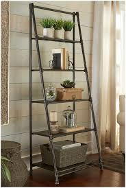 leaning ladder shelf decorating with leaning ladder shelves