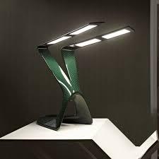 table lamp original design polycarbonate oled carbon lime